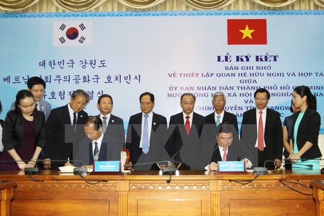 Gangwon businesses promote Korean investment in Ho Chi Minh City