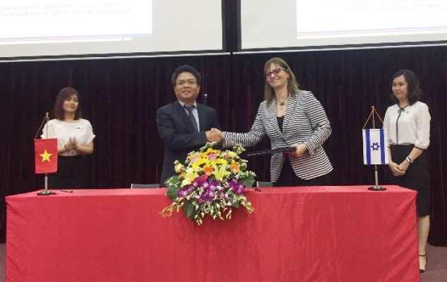 Vietnam, Israel promote cooperation on space science and technology