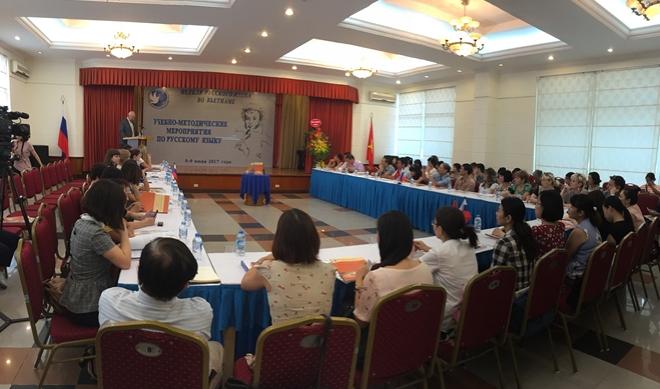Russian Language Week in Vietnam opens