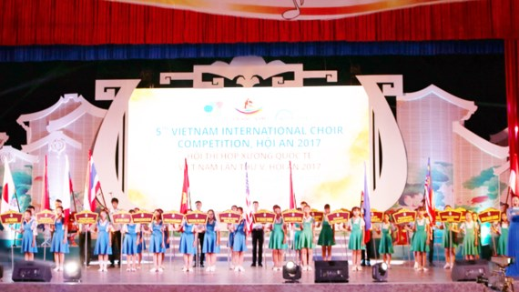 Over 1,000 artists participate in Vietnam International Choir Competition