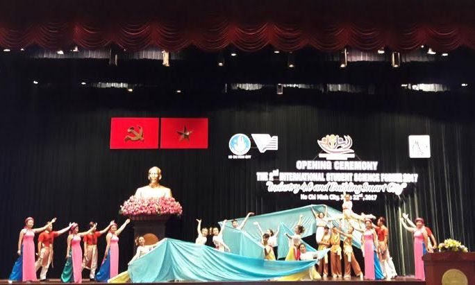 2nd International Student Science Forum opens in Ho Chi Minh city