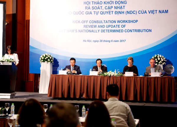 Vietnam updates its nationally determined contribution for implementation of Paris Agreement