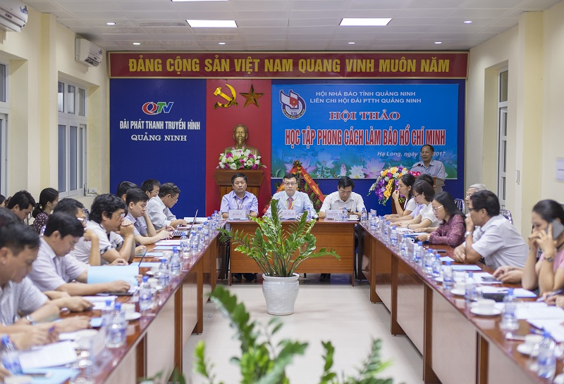 Quang Ninh Press study Ho Chi Minh's journalistic style