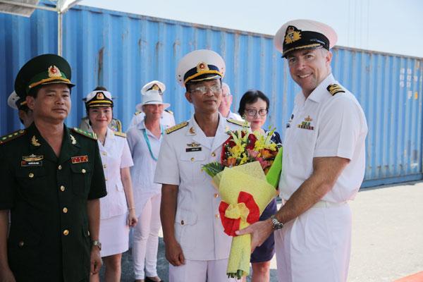 Australian Navy warship HMAS Ballarat visits Vietnam