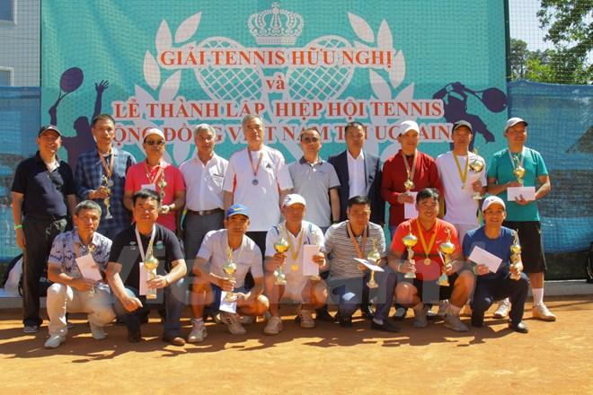 Tennis Association of Vietnamese community in Ukraine established