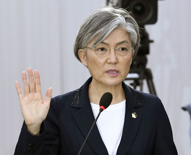 RoK appoints first female Foreign Minister