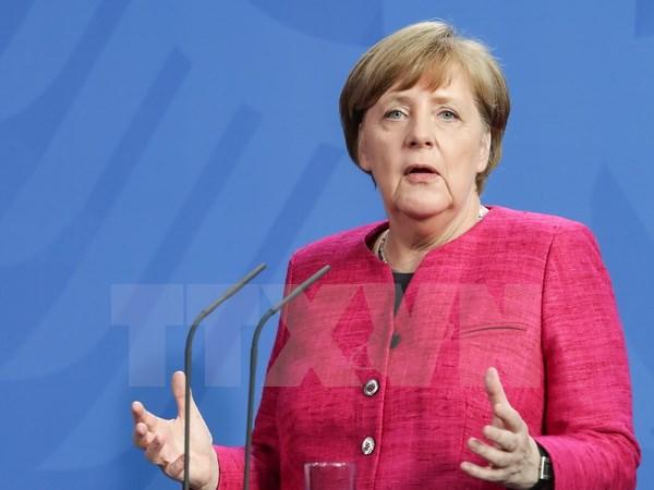 Chancellor Angela Merkel visits Latin America