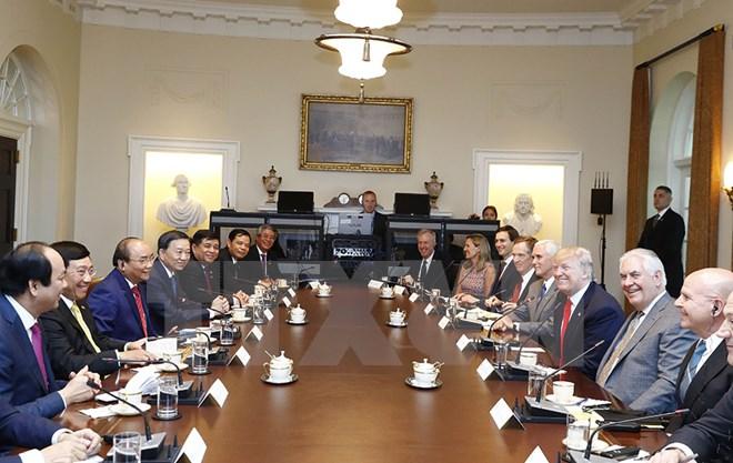 International press reports PM Nguyen Xuan Phuc's visit to US