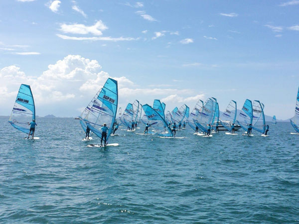 RS:One World Championships Hoi An and Vietnam Open Sailing tour opens