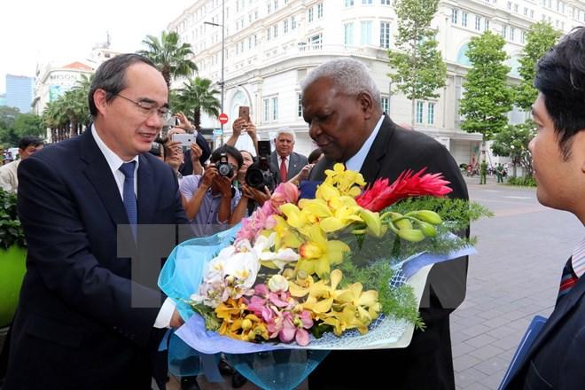 Cuban top legislator visits HCM city