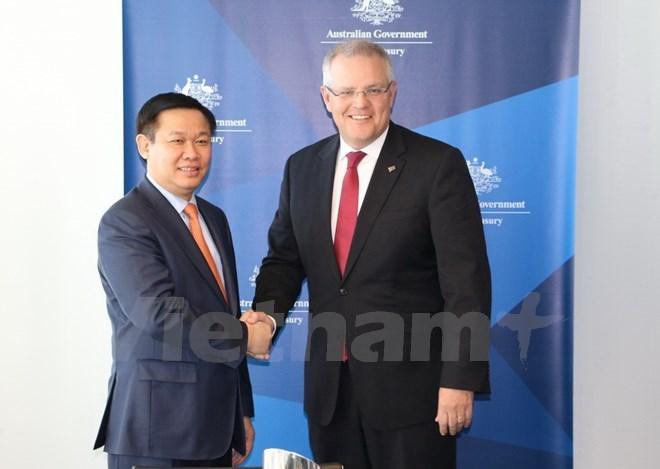 Deputy PM visits Australia to beef up bilateral ties