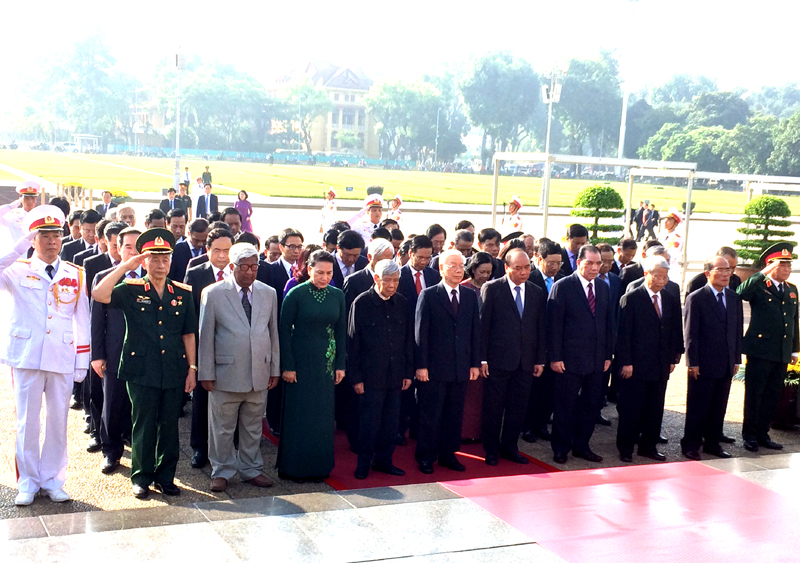 Party, State leaders commemorate heroic martyrs
