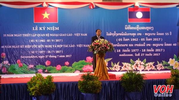 Meeting marks 55th year of Vietnam - Laos diplomatic relationship