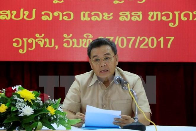 Lao official hails Vietnamese community's contributions