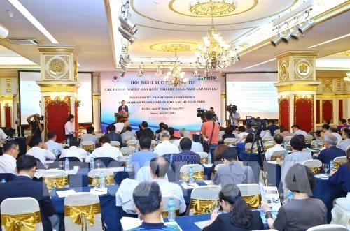 Hoa Lac High-Tech Park lures more RoK investors