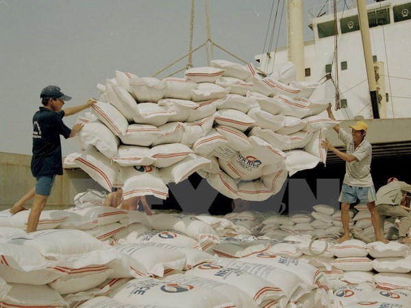 Vietnam exports 2.66 mln tonnes of rice in first half