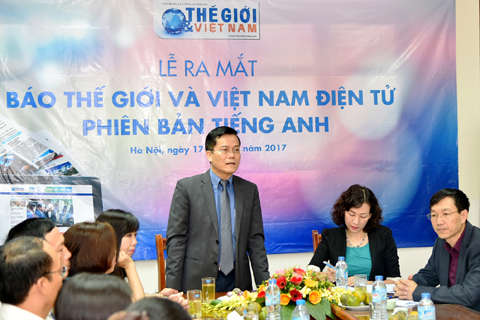 The World & Vietnam Report launches online English version