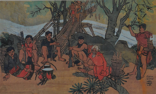 Hanoi: Fine arts exhibition on revolutionary war