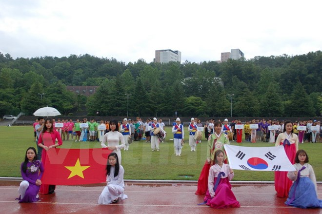 ICFood Cup of Vietnamese students in RoK
