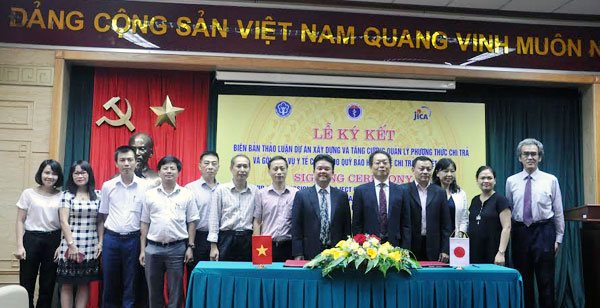 Vietnam, Japan cooperate on improving health insurance system
