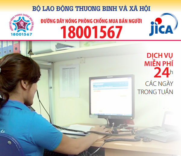 JCIA continues supports to fight human trafficking in Vietnam
