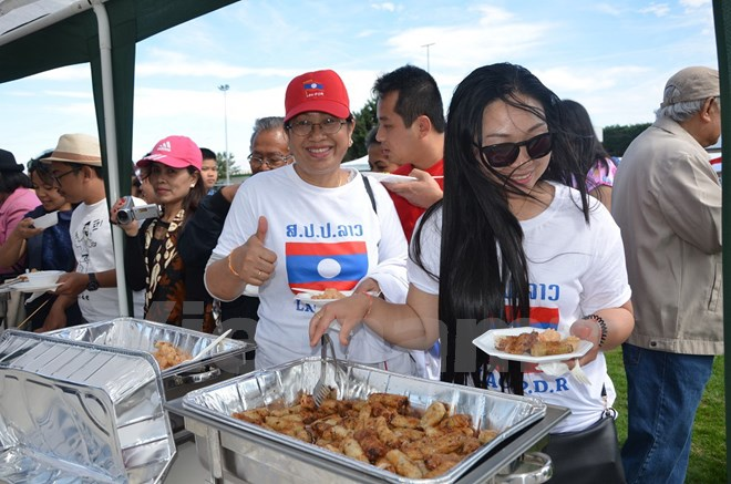 Eventful activities during ASEAN Family Day in France