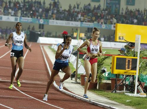 Vietnamese women win silver at 2017 Asian Athletics Championships