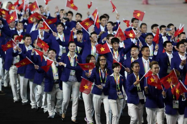 SEA Games 29: Vietnamese delegation forms with 693 members