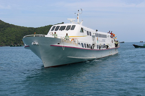 Soc Trang - Con Dao sea transport route launched