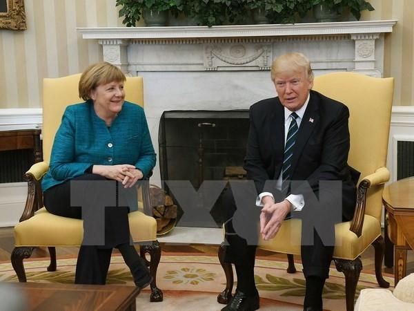 Donald Trump talks with European leaders ahead of G20 summit