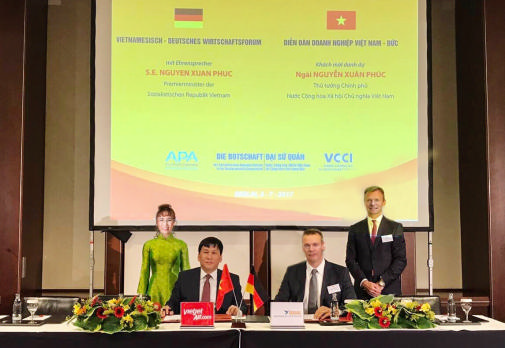 Vietjet inks strategic financing agreement with German company