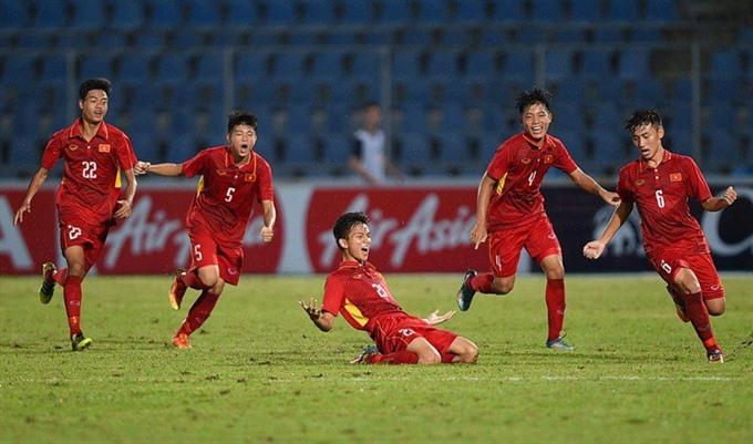 Easy win for U15 Vietnam against Australia