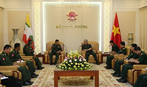 Vietnam, Myanmar boost realisation of defence cooperation MoU
