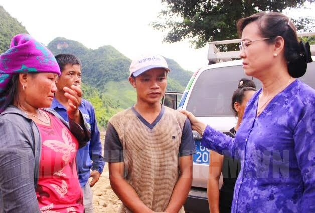 Ho Chi Minh city assists flood affected people with VND3.6 billion