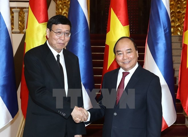 Prime Minister welcomes Thailand's top legislator