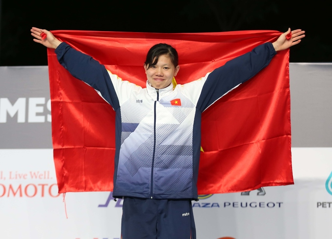 """Cetus"" Anh Vien won a gold medal in 29th SEA Games"