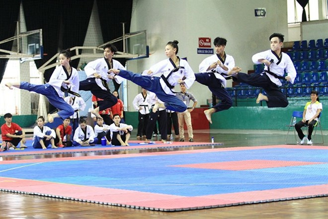 Taekwondo artists target four golds in SEA Games
