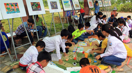 August activities at Vietnam National Village for Ethnic Culture and Tourism