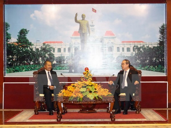 HCM City ready to bolster all-round ties with Lao localities