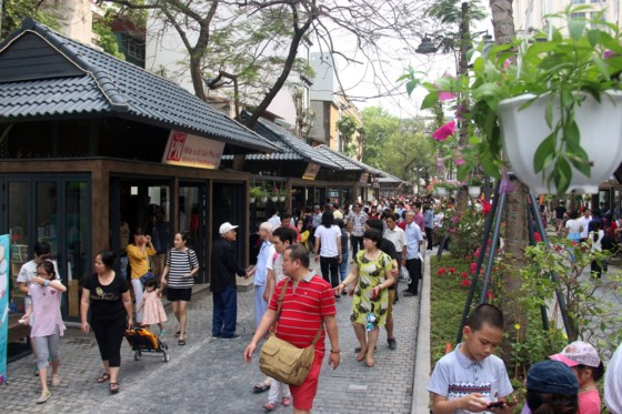 Book street - A cultural space in the capital's heart