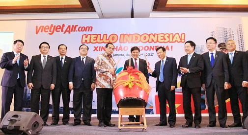 Vietjet Air to connect Ho Chi Minh city with Jakarta