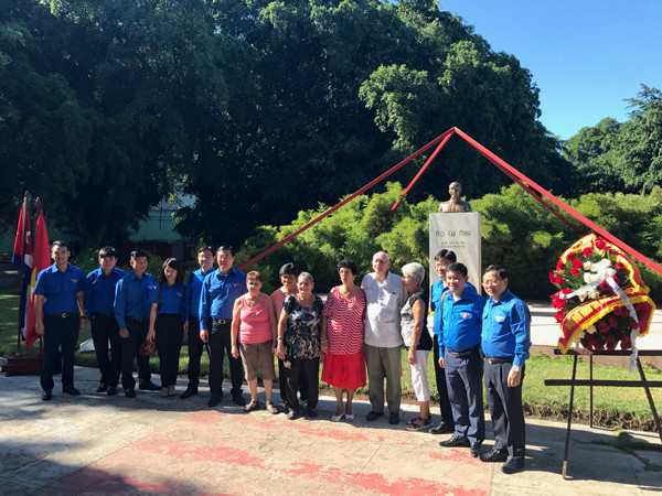 Delegation of Ho Chi Minh Communist Youth Union Central Committee visits Cuba