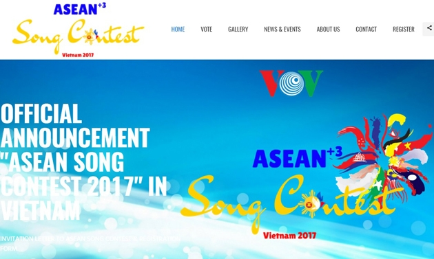 24 singers from 11 nations to attend ASEAN + 3 Song Contest 2017