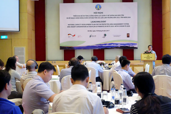 Germany helps Vietnam to enhance capacity in primate conservation