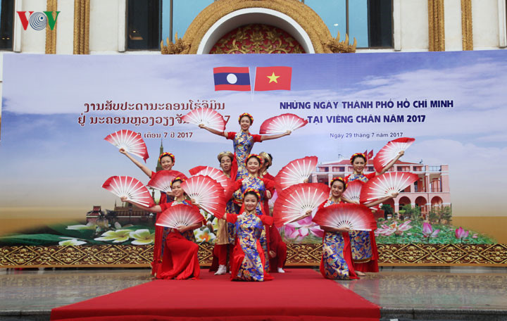 Ho Chi Minh City Days held in Vientiane