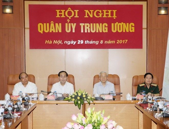 Party chief directs Central Military Commission's conference