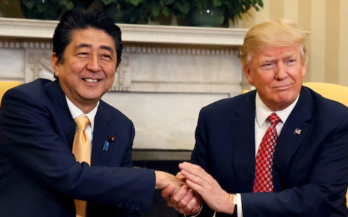 Donald Trump to visit Japan