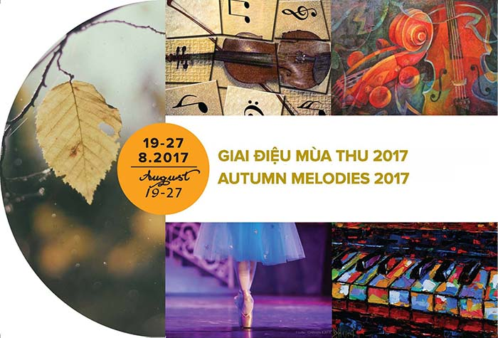 Autumn Melodies Arts Festival in Ho Chi Minh city