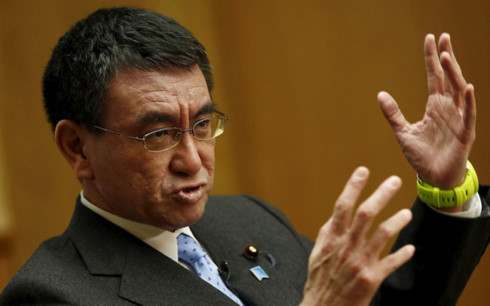 Taro Kono appointed as Japanese Foreign Minister