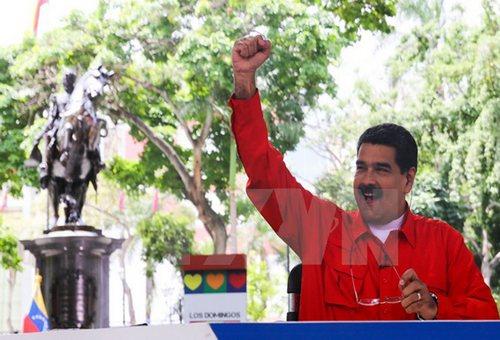 Maduro declares victory in legislative election